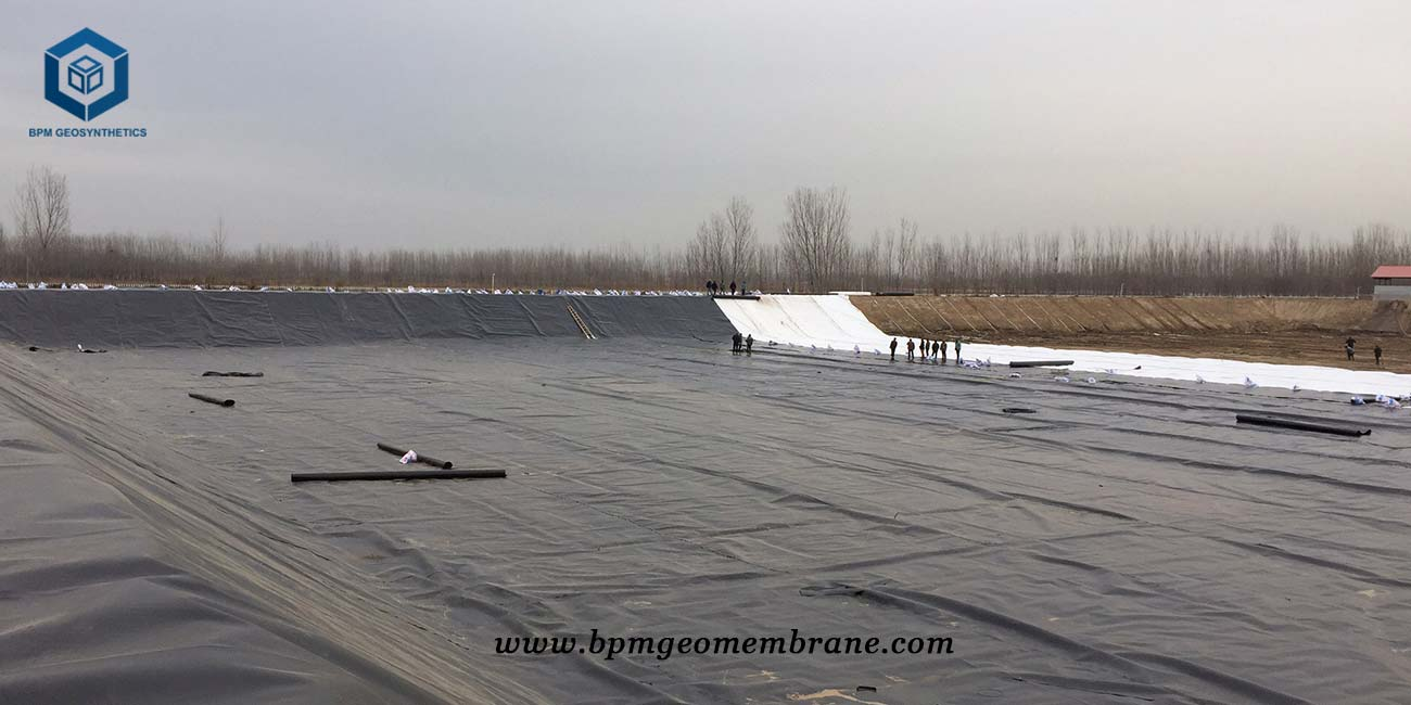 Reinforced Polyethylene Liner for Landfill Project in Indonesia