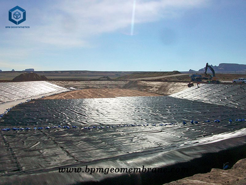 High Density Polyethylene Pond Liner For Aquaculture Fish Farm in Mozambique
