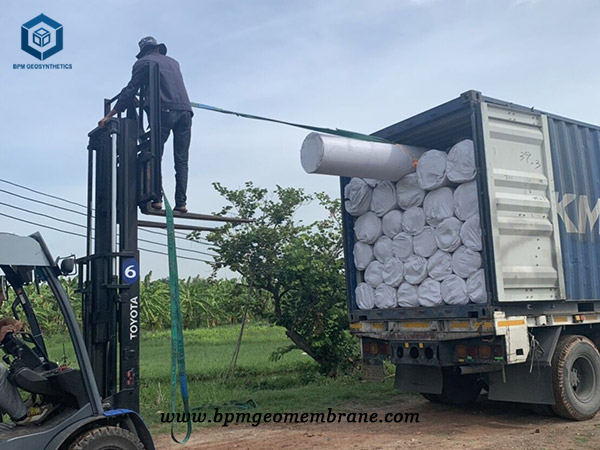 Heavy Duty Pond Liner for Waste Water Containment in Thailand