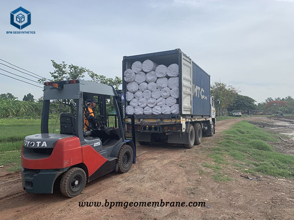 Heavy Duty Pond Liner for Waste Water Treatment in Thailand