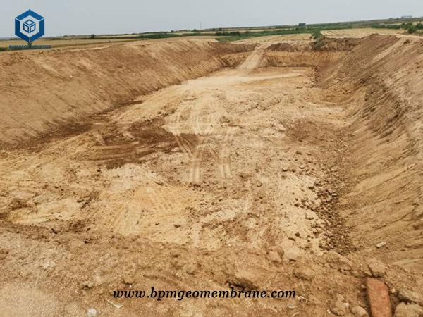 Black Pond Liner for Oxidation Pond in China