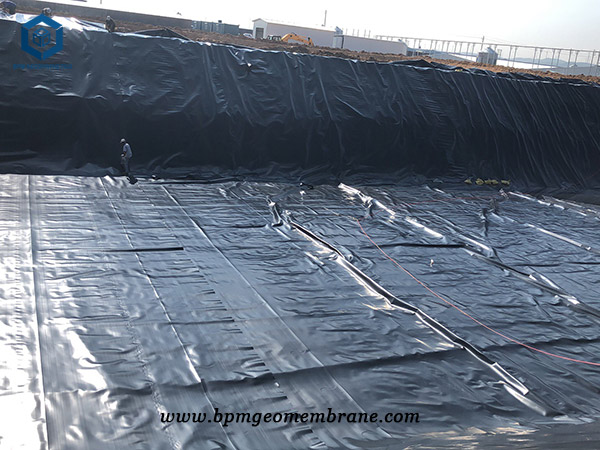 HDPE Pond Liner for Oxidation Pond in China
