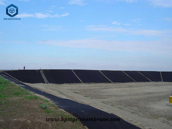 Geomembrane Pond Liner for Salt Field Project in Qinghai