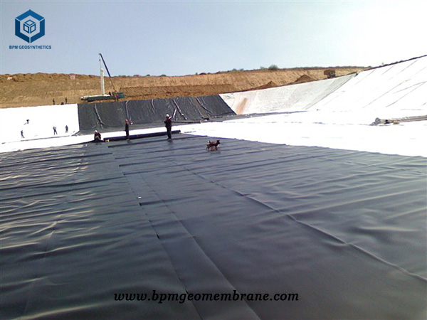Pvc Pond Liner for Salt Field Projects in Qinghai
